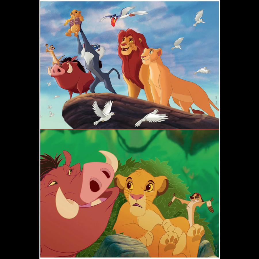 Lion King - 2 x 48 stukjes-2