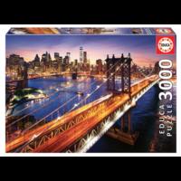 thumb-Manhattan in New York - puzzel van 3000 stukjes-1