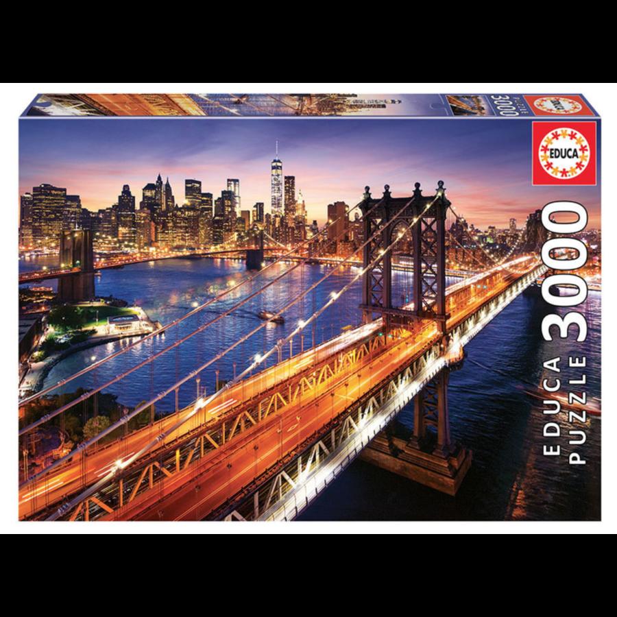 Manhattan in New York - puzzel van 3000 stukjes-1