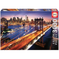 thumb-Manhattan in New York - jigsaw puzzle of 3000 pieces-3