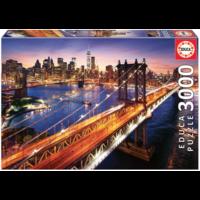 thumb-Manhattan in New York - puzzel van 3000 stukjes-3