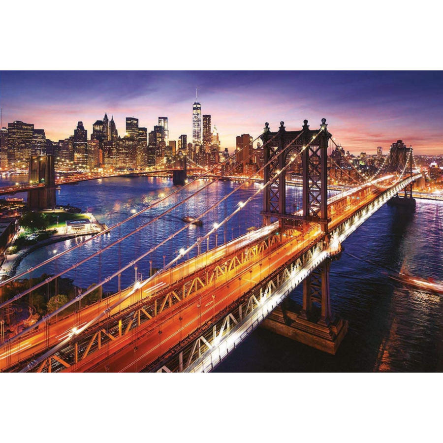Manhattan in New York - jigsaw puzzle of 3000 pieces-2