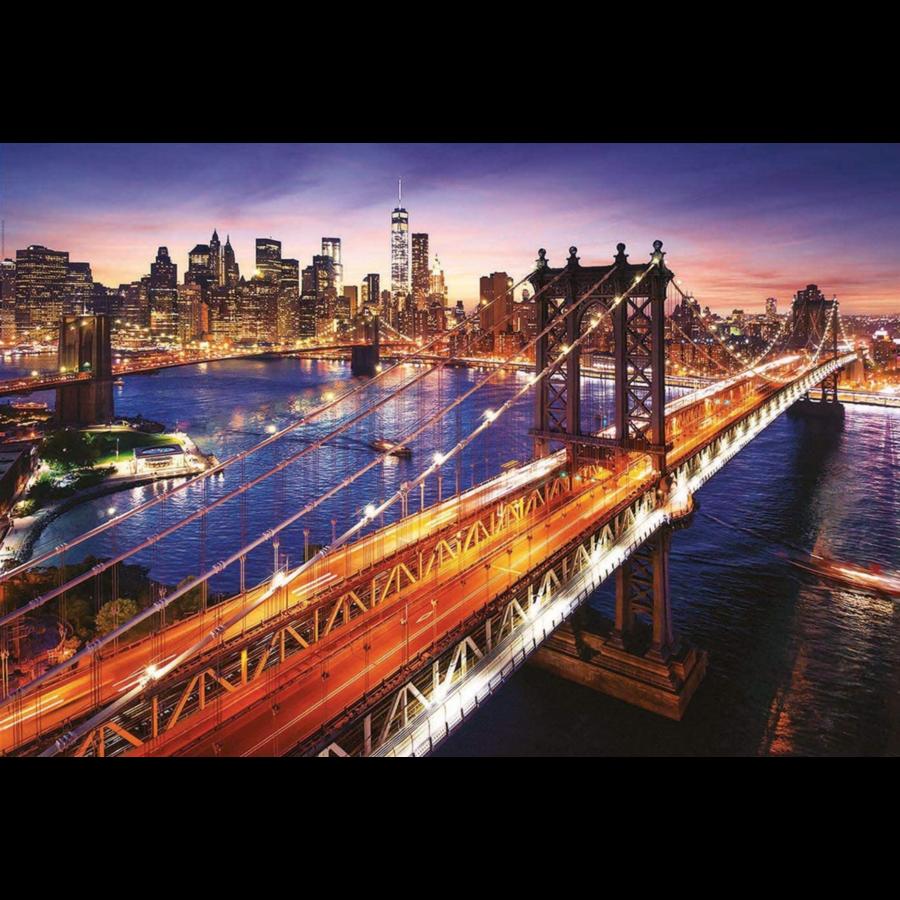 Manhattan in New York - puzzel van 3000 stukjes-2