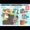 Educa 4 puzzels van de Disney dieren - 12, 16, 20 en 25 stukjes