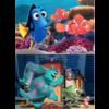 Educa BOIS: Pixar - Nemo et Dory - Monsters Inc. - 2 x 25 pièces