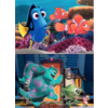 Educa WOOD: Pixar - Nemo and Dory - Monsters Inc. - 2 x 25 pieces