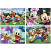Educa Mickey Mouse and friends - 4 puzzles of 20 / 40 / 60 / 80 pieces