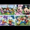Educa Mickey Mouse en vrienden - 4 puzzels van 20 / 40 / 60 / 80 stukjes