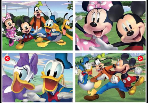 Educa Mickey Mouse en co. - 4 puzzels van 20 / 40 / 60 / 80 stukjes