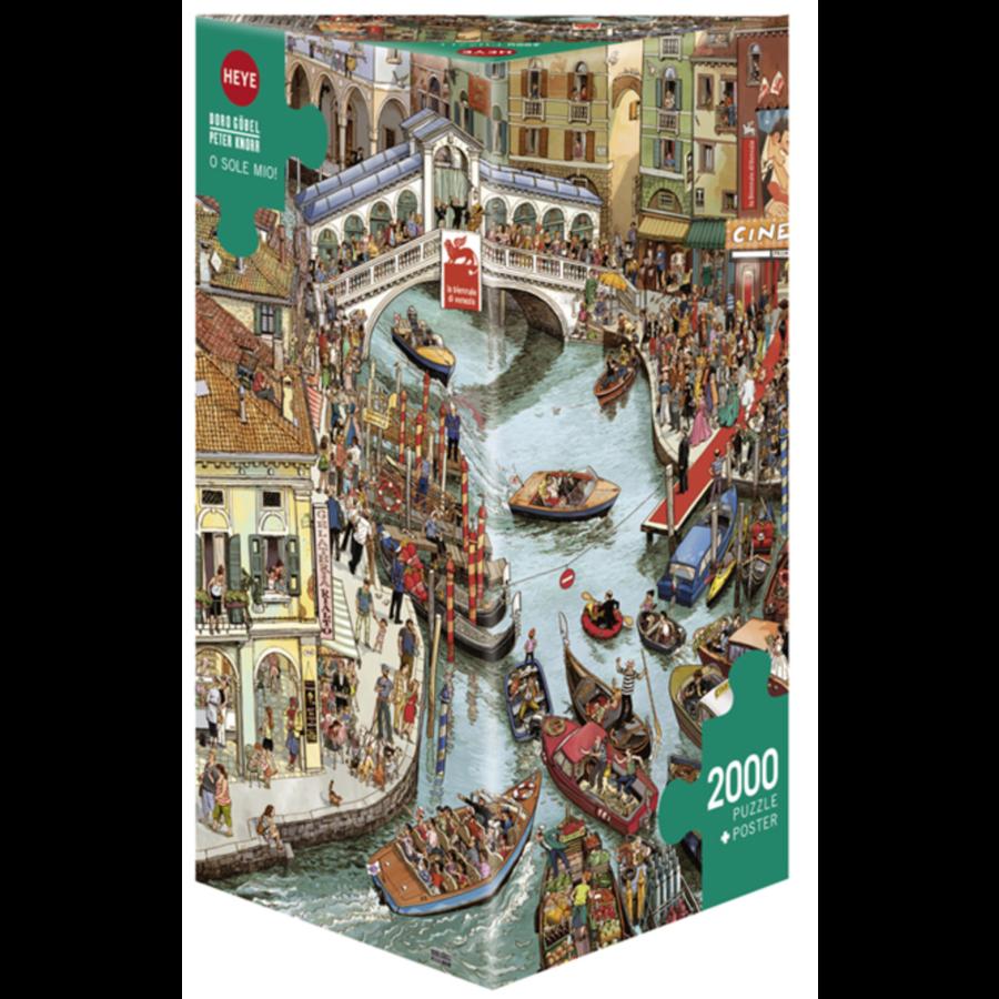 O Sole Mio  - puzzel van 2000 stukjes-1