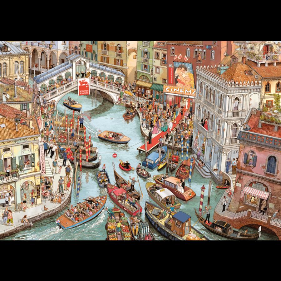 O Sole Mio  - puzzel van 2000 stukjes-2