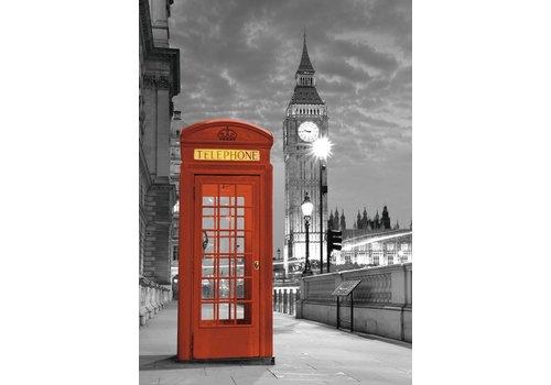 De telefooncel in Londen - 1000 stukjes