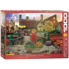 Eurographics Puzzles Old Town Living - 1000 pieces - jigsaw puzzle