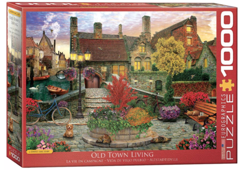 Eurographics Puzzles Old Town Living - 1000 pieces
