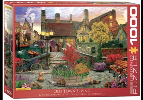 Eurographics Puzzles Old Town Living - 1000 stukjes