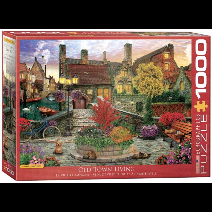 Old Town Living - puzzel van 1000 stukjes-1