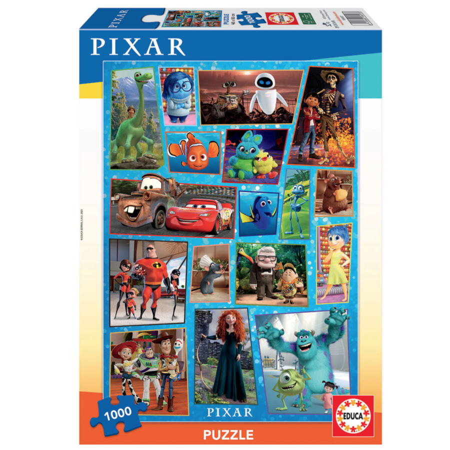 Disney Pixar  - puzzle of 1000 pieces-1