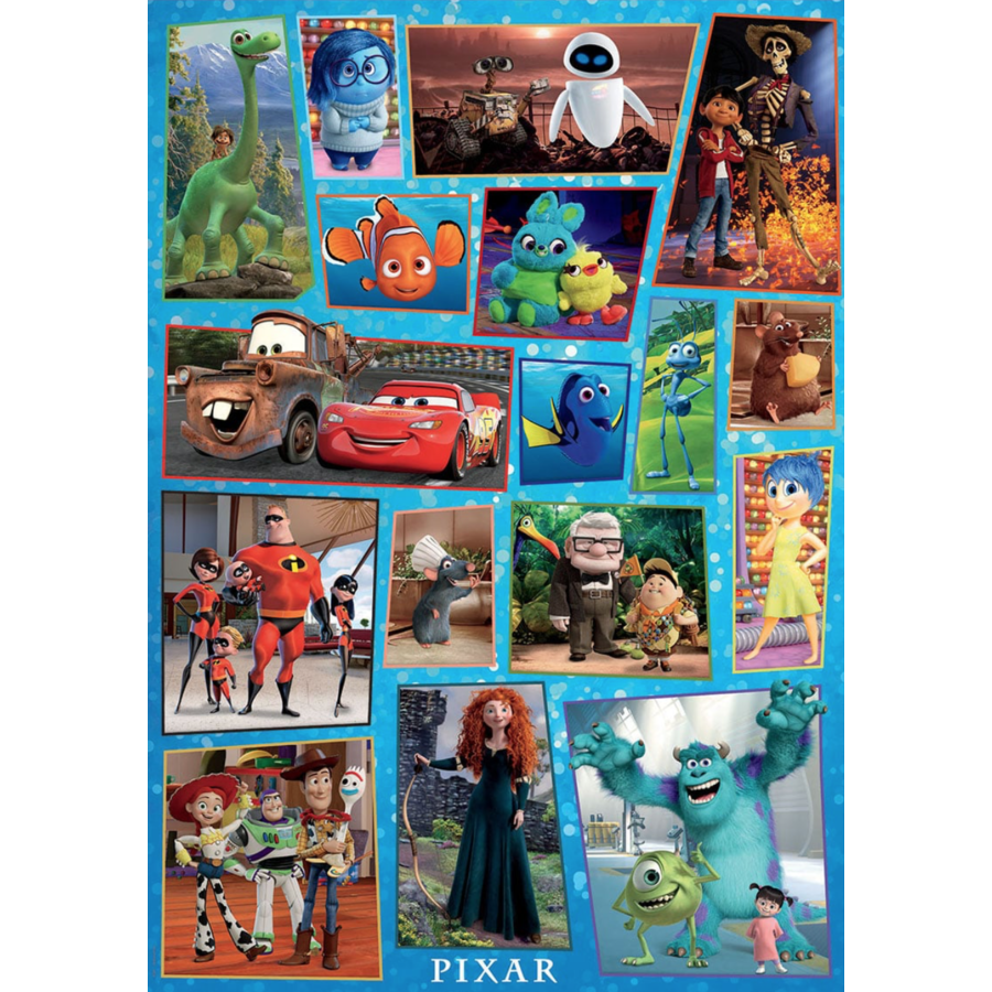 Disney Pixar  - puzzle of 1000 pieces-2