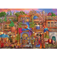thumb-Arabian Street - puzzle of 1000 pieces-1