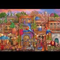 thumb-Arabische straat  - puzzel van 1000 stukjes-1