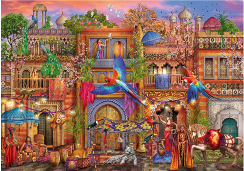 Bluebird Puzzle Arabian Street - 1000 pieces