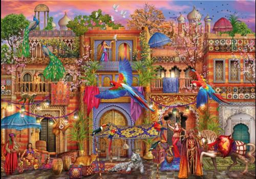 Bluebird Puzzle Arabische straat - 1000 stukjes