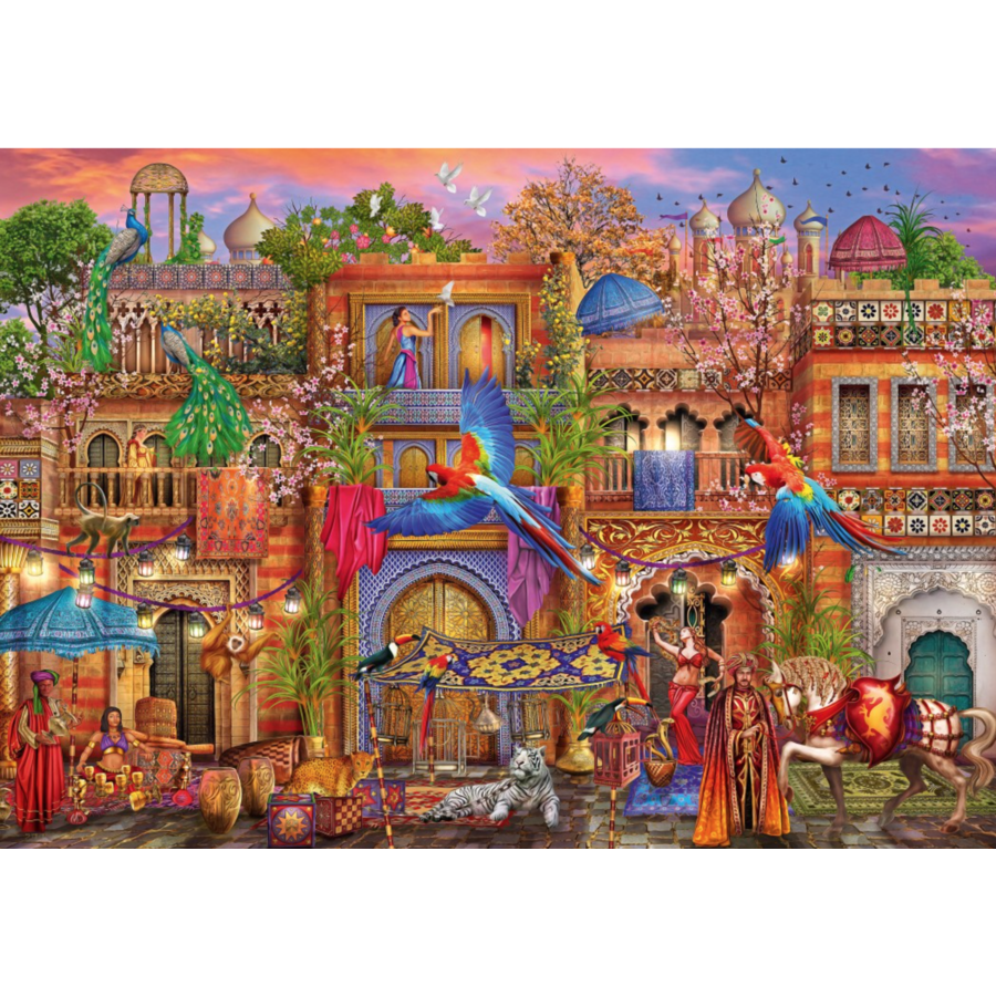 Arabian Street - puzzle of 1000 pieces-1