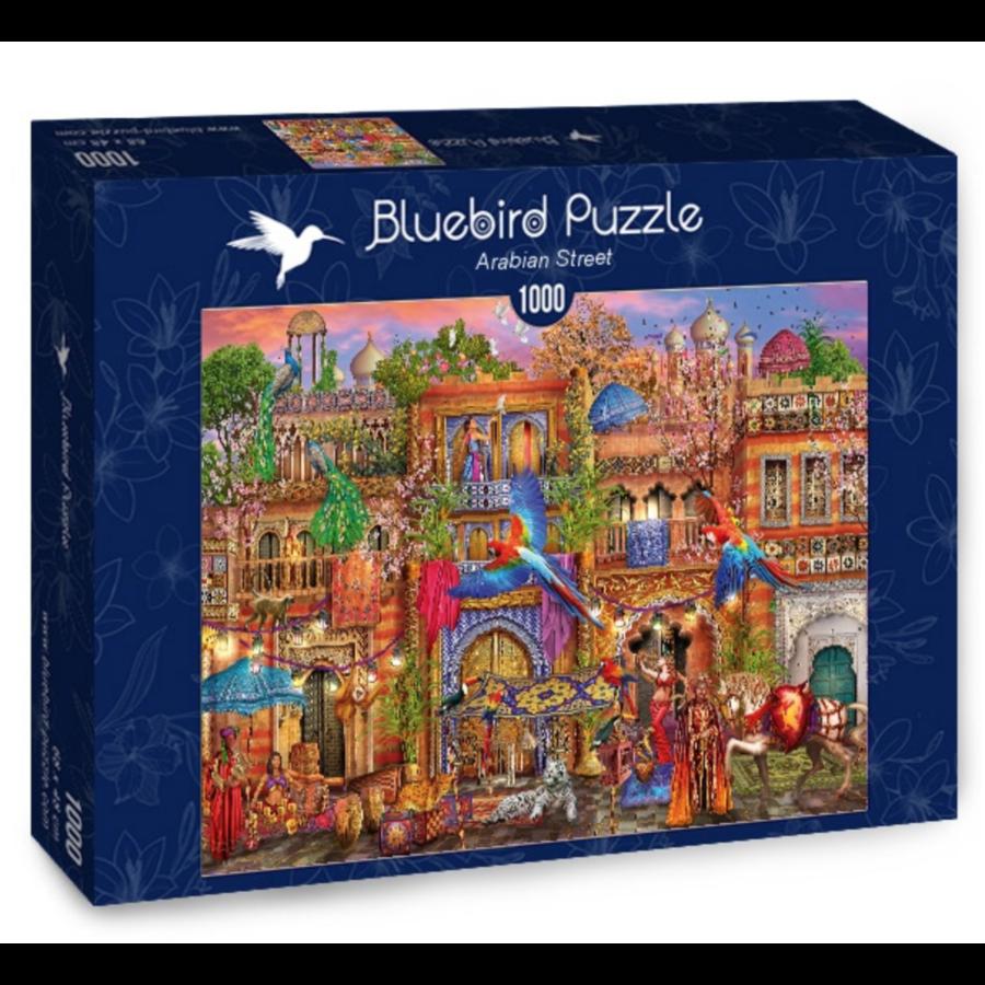 Arabische straat  - puzzel van 1000 stukjes-2
