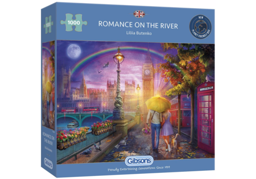 Romantiek op de kade - 1000 stukjes