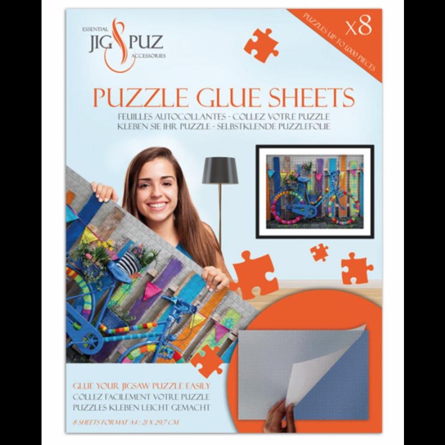 Zelfklevende puzzelfolie voor 1000 stukjes-1