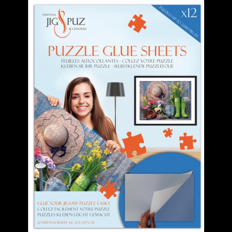 Zelfklevende puzzelfolie voor 2000 stukjes-1