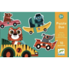 Djeco Puzzle duo - Original cars - 10 x 2 pieces