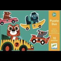 thumb-Puzzel duo - Originele auto's - 10 x 2 stukjes-1
