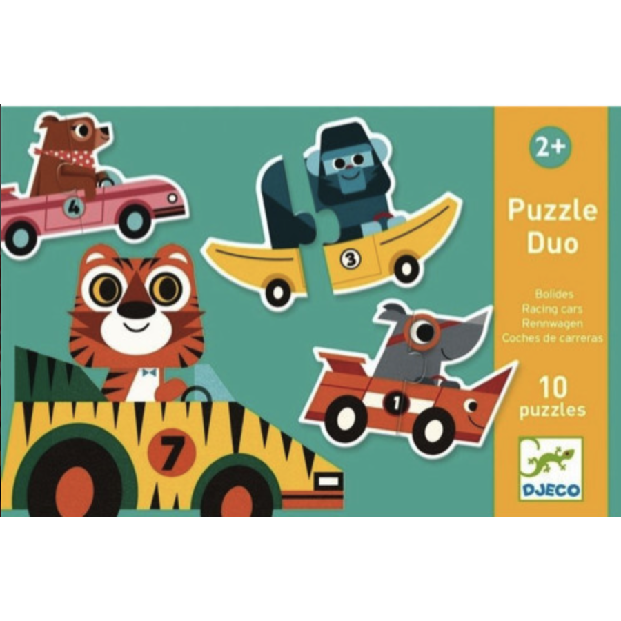 Puzzle duo - Original cars - 10 x 2 pieces-1