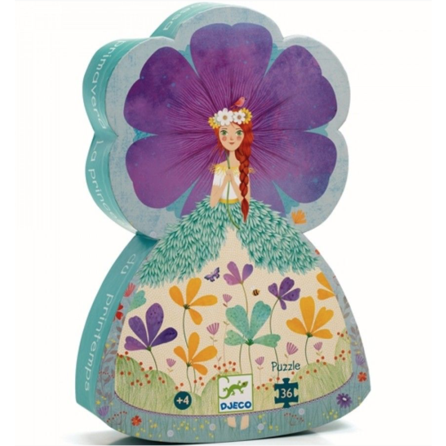 Princess of Spring - puzzle of 36 pieces-1