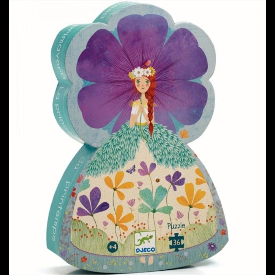 Prinses van de lente - puzzel van 36 stukjes-1