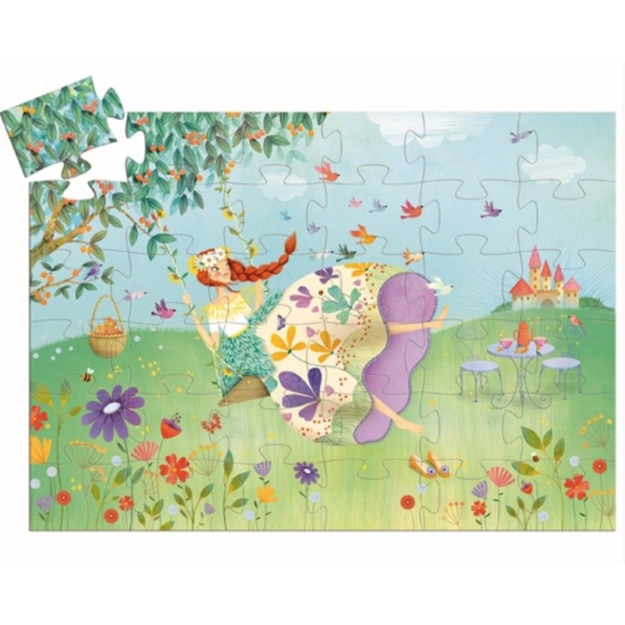 Princess of Spring - puzzle of 36 pieces-2