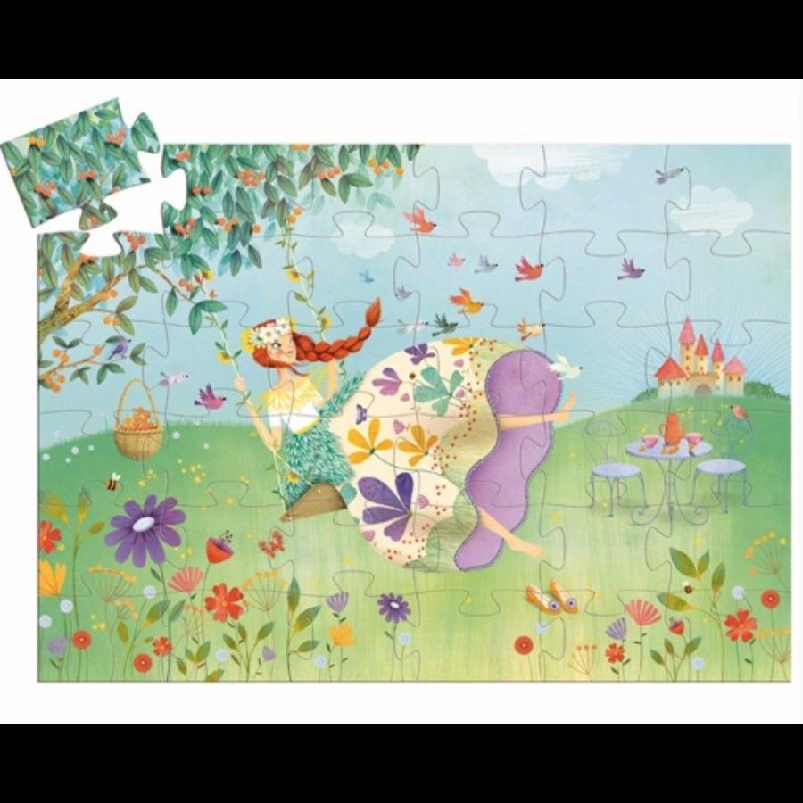 Prinses van de lente - puzzel van 36 stukjes-2