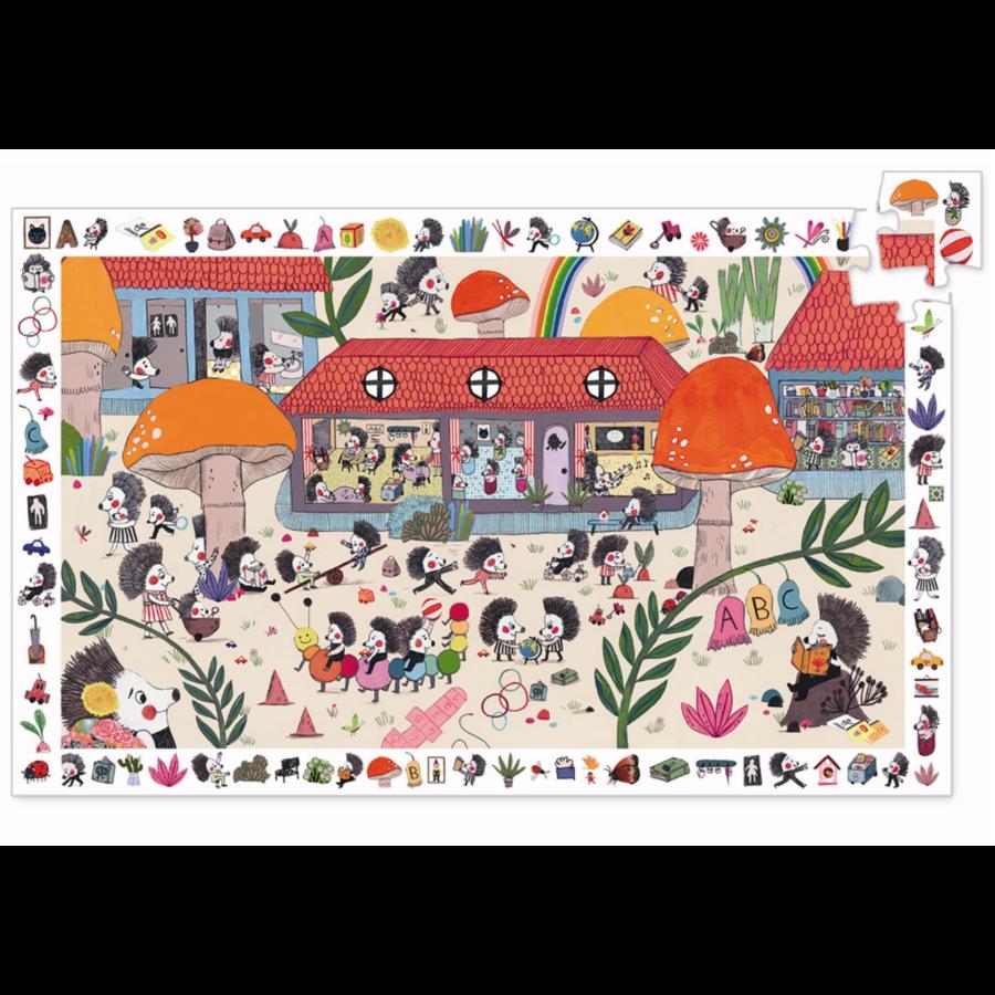 De Egelschool - puzzel van 35 stukjes-2