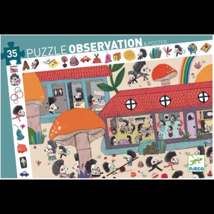 De Egelschool - puzzel van 35 stukjes-1