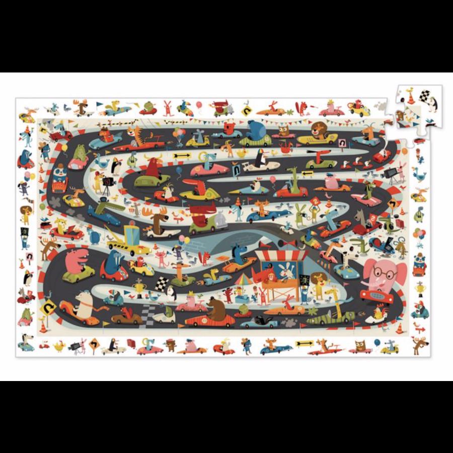 Zoekpuzzel - Car rally - 54 stukjes-2