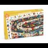 Djeco Puzzle de Recherche - Car rally - 54 pièces