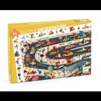 thumb-Puzzle de Recherche - Car rally - 54 pièces-1