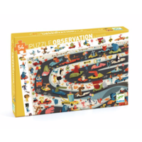 thumb-Search puzzle - Car rally - 54 pieces-1