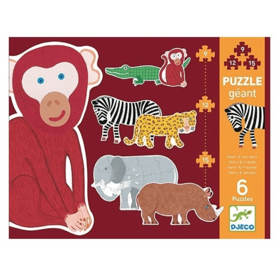 6 giant pearls of wild animals - 9, 12 and 15 pieces-1
