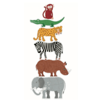 thumb-6 giant pearls of wild animals - 9, 12 and 15 pieces-2