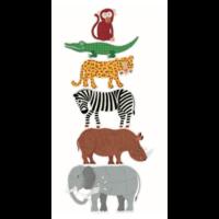thumb-6 puzzles géants des animaux sauvages - 9, 12 et 15 pièces-2