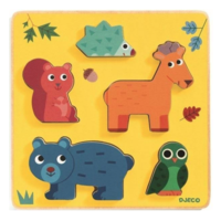 Animals from the woods - 5 pieces