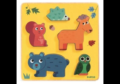 Djeco Animaux de la forêt - 5 pièces