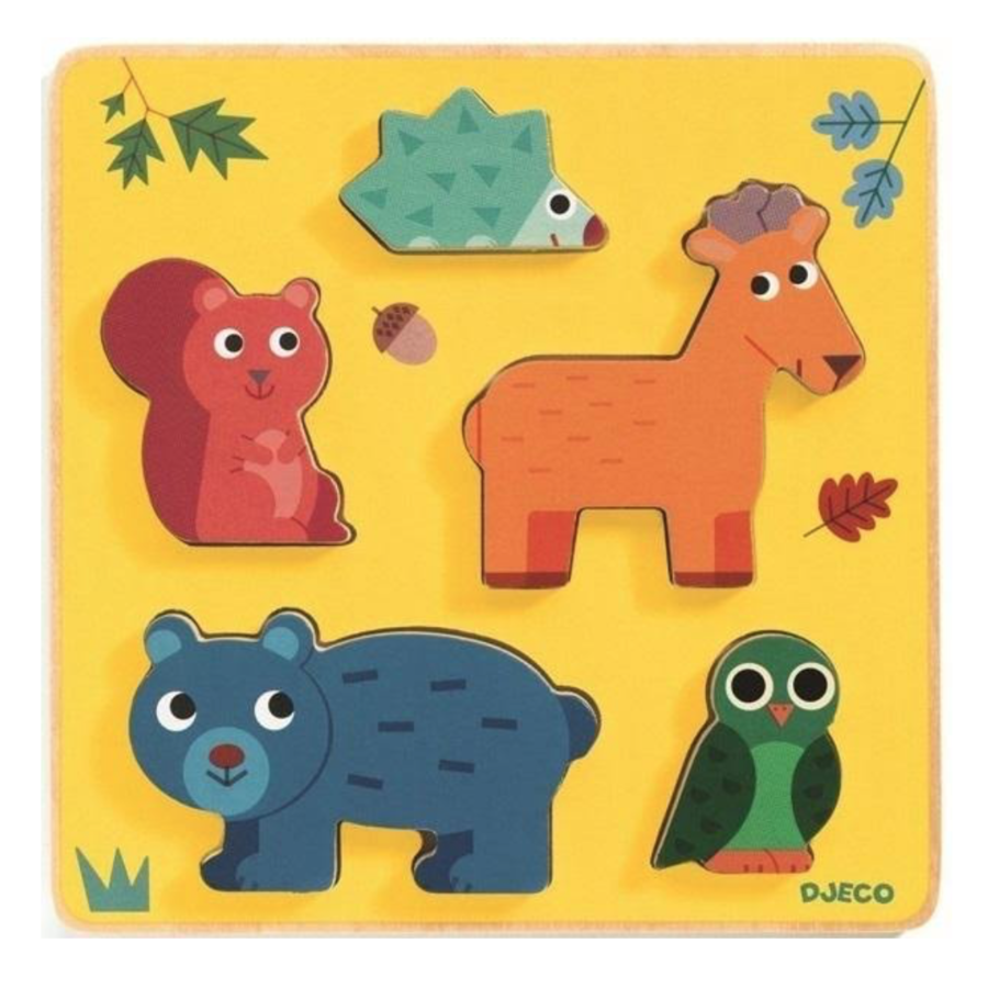 Animals from the woods - 5 pieces-1